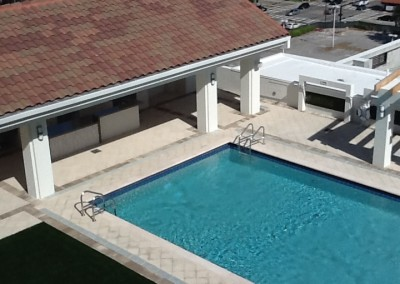 commercial pool rootop