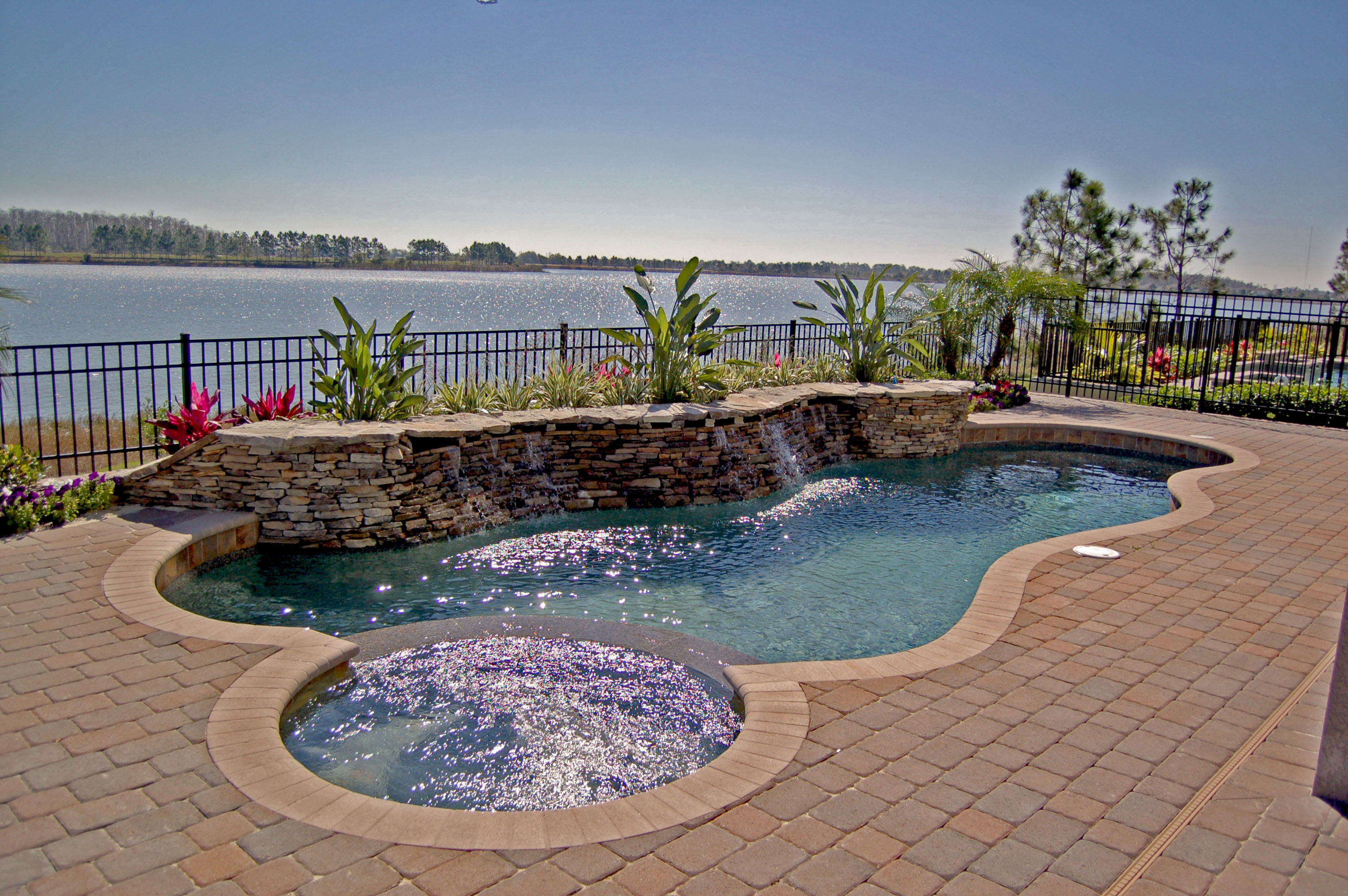 See How Easily You Can Add A Spa To Your Existing Pool