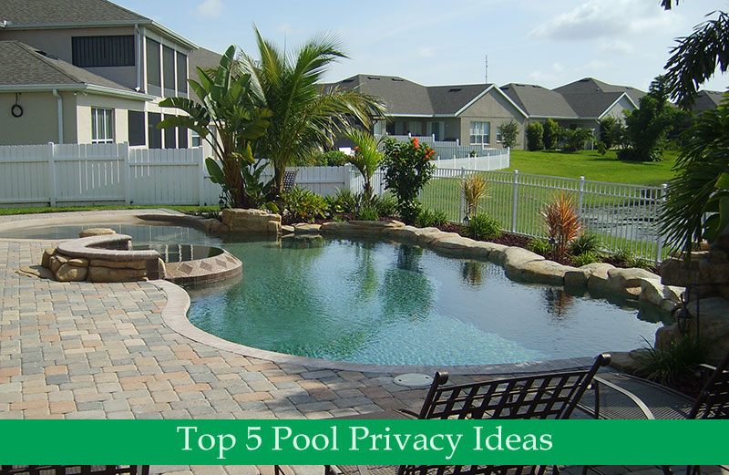 Top 5 Pool Privacy Ideas