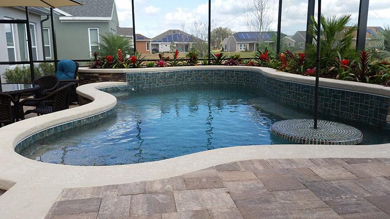Pool Deck Pavers Orlando Fl American Pools Amp Spas