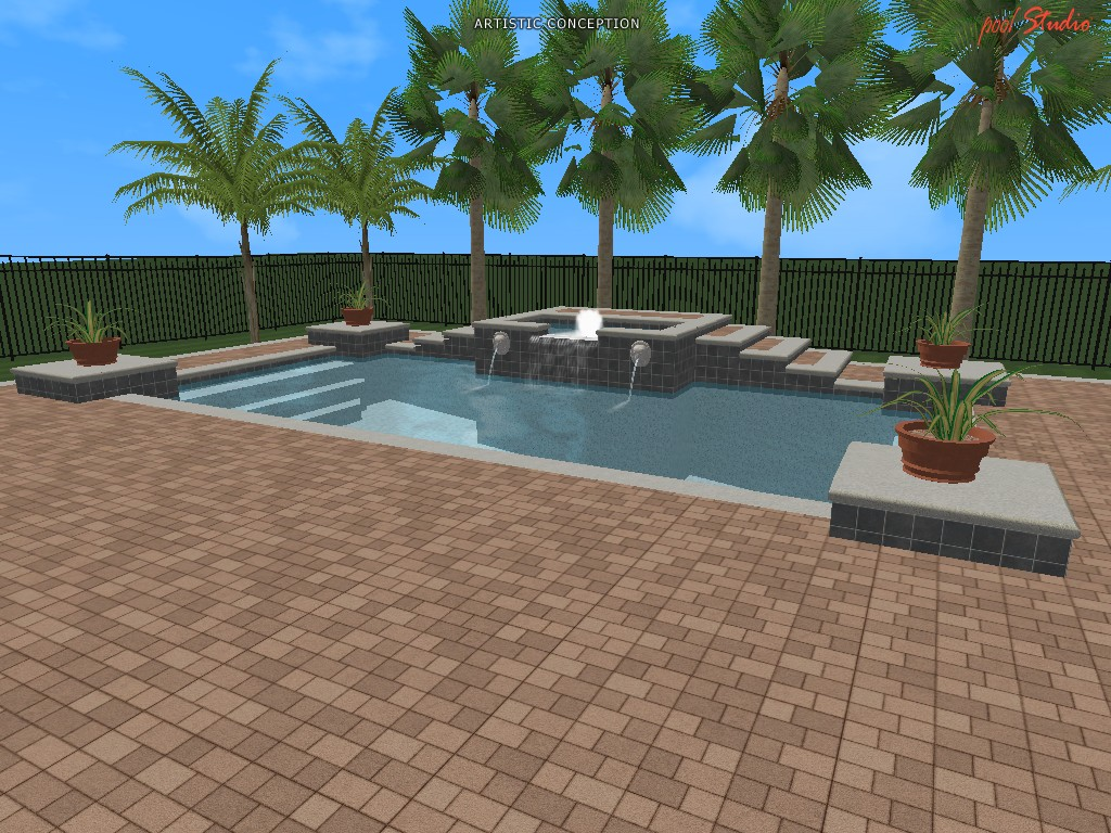 swimming pool design ideas in 3d