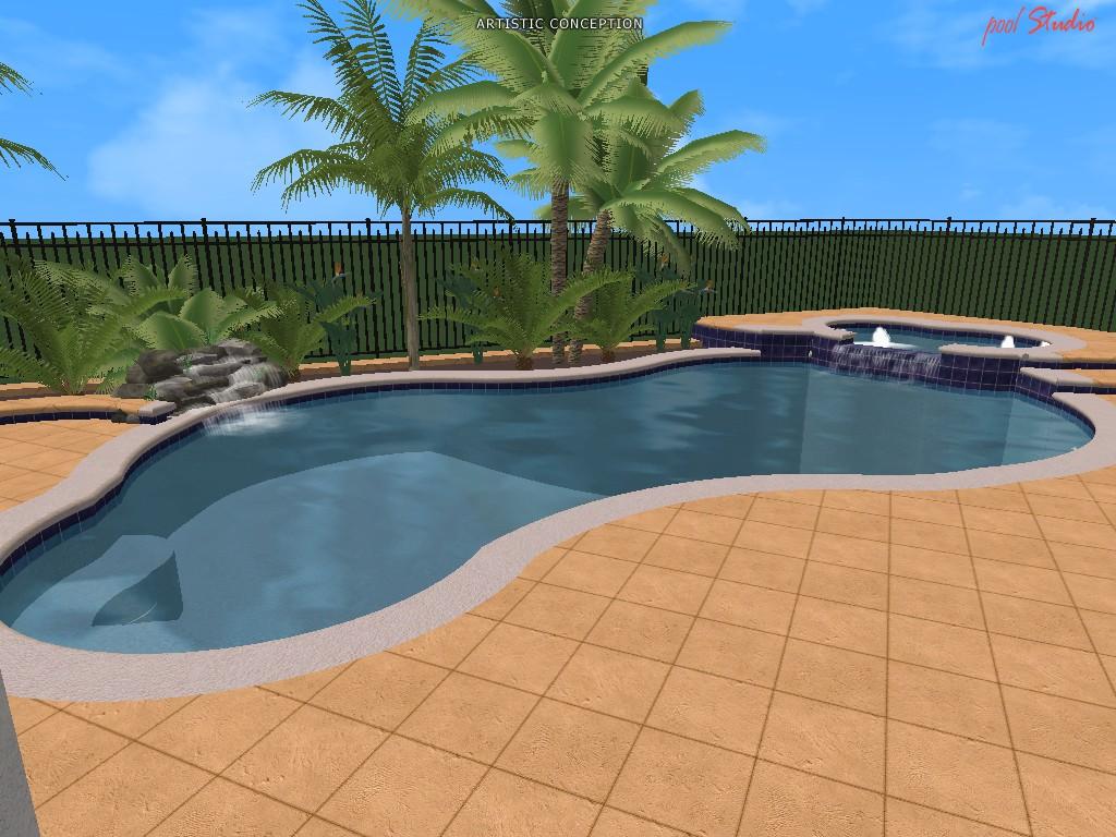 Swimming Pool Design Ideas In 3d Orlando Vero Beach Fl
