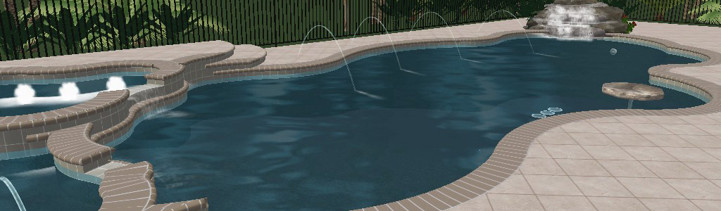 Swimming Pool Design Ideas in 3D – Orlando, Vero Beach, FL