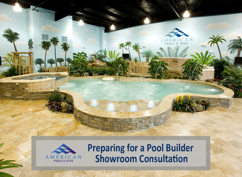 Preparing for a Pool Builder Showroom Consultation