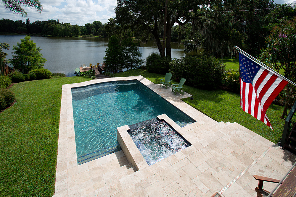 Swimming Pools With Spas Orlando Fl Custom Pool And